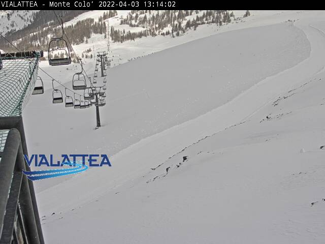 Sauze d'Oulx webcam - Top of Colo